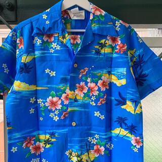 アートヴィンテージ(ART VINTAGE)の2000円セール⭕️90s アロハシャツ 開襟シャツ ハワイ製 アメリカ製 総柄(シャツ)
