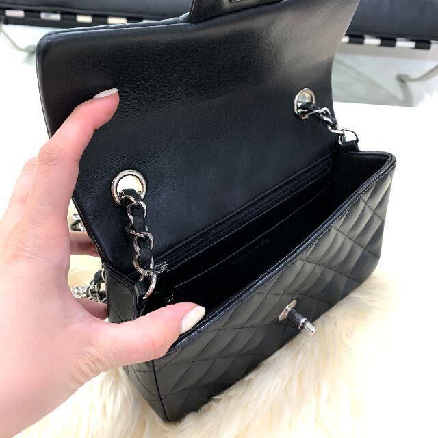 CHANEL(シャネル)の《バレンタイン限定》 シャネル ラムスキン ミニマトラッセ チェーンバッグ レディースのバッグ(ショルダーバッグ)の商品写真