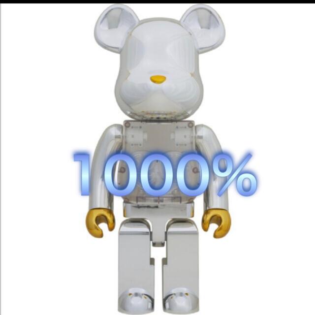 MEDICOM TOY(メディコムトイ)のベアブリック BE@RBRICK 2g 1000% エンタメ/ホビーのフィギュア(その他)の商品写真