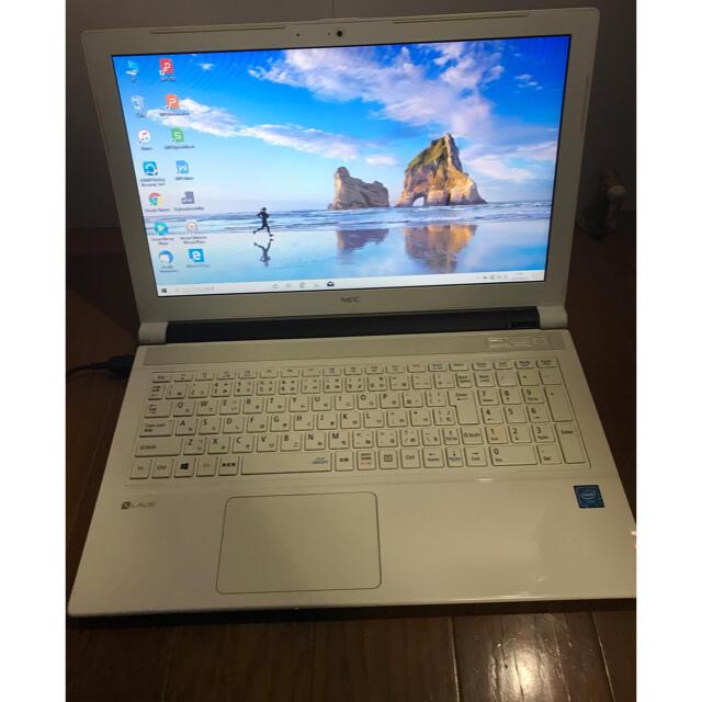 薄型ノートパソコンOffice付メモリー8G SSD256G Windows10 スマホ/家電/カメラのPC/タブレット(ノートPC)の商品写真