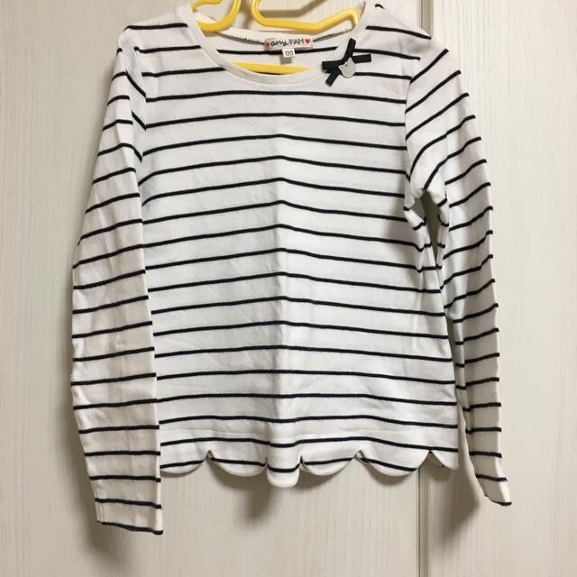 anyFAM(エニィファム)の120  any FAM 長袖Tシャツ キッズ/ベビー/マタニティのキッズ服女の子用(90cm~)(Tシャツ/カットソー)の商品写真