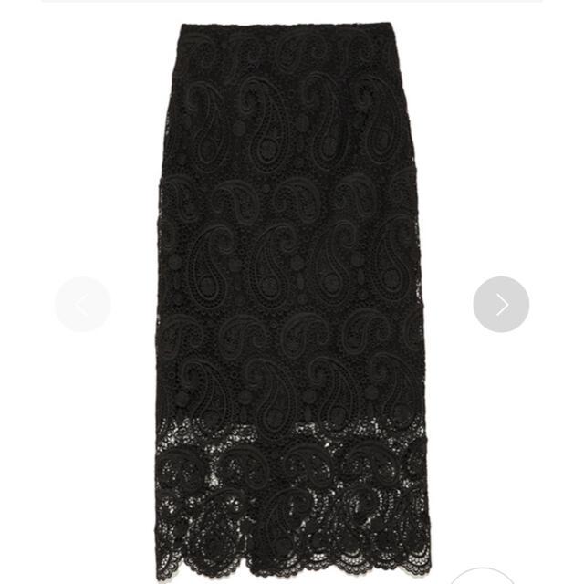 FRAY I.D(フレイアイディー)のCELFORD セルフォード ペイズリーレースタイトスカート✨ レディースのスカート(ひざ丈スカート)の商品写真