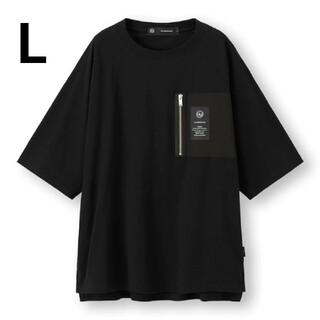 GU - GU×UNDERCOVERスーパービックジップポケットTシャツ5分袖