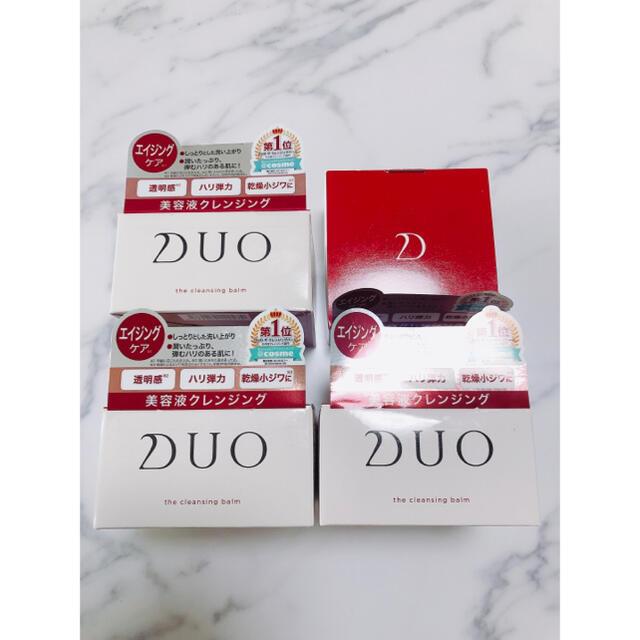 DUO クレンジングバーム デュオ エイジングケア コスメ/美容のスキンケア/基礎化粧品(クレンジング/メイク落とし)の商品写真