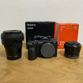 SONY - SONYα6600、SIGMA16mm、SONY35mm