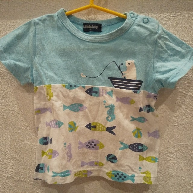 kladskap(クレードスコープ)の〈中古品〉クレードスコープ 男の子90Tシャツ キッズ/ベビー/マタニティのキッズ服男の子用(90cm~)(Tシャツ/カットソー)の商品写真