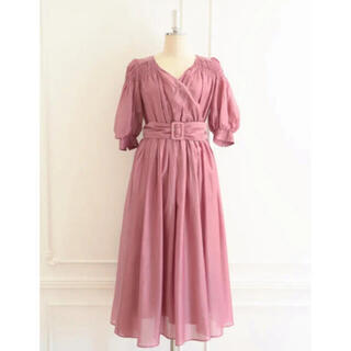 【新品未使用】Airy Volume Sleeve Dress