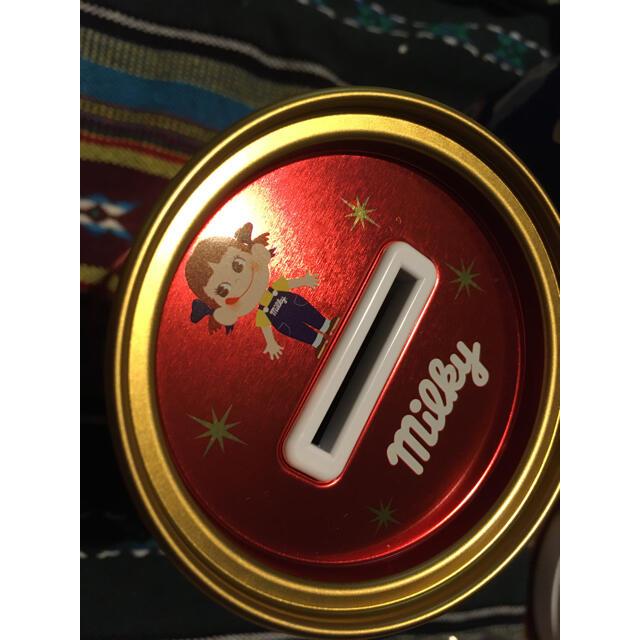 不二家(フジヤ)のペコちゃん 貯金箱 限定 レア FUJIYA レトロ ゆめかわ   エンタメ/ホビーのおもちゃ/ぬいぐるみ(キャラクターグッズ)の商品写真
