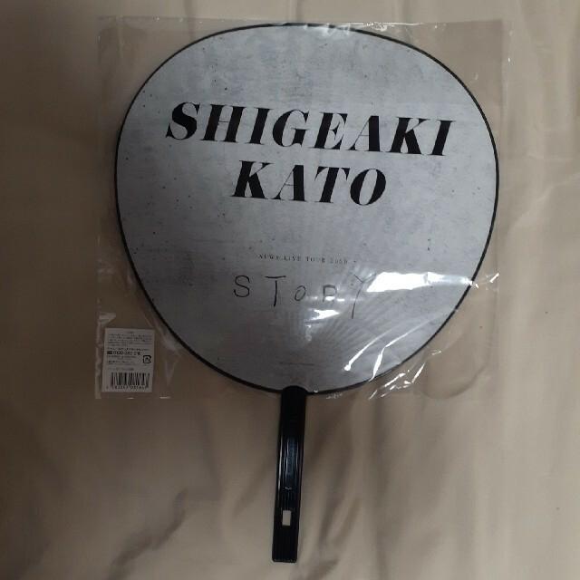 加藤シゲアキ うちわ NEWS STORY エンタメ/ホビーのタレントグッズ(アイドルグッズ)の商品写真