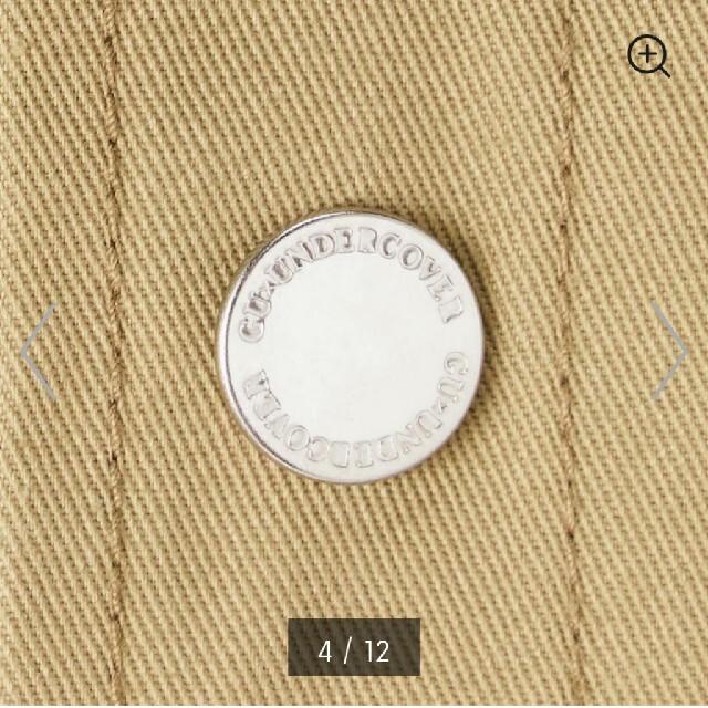UNDERCOVER(アンダーカバー)の即完売品 GU× アンダーカバー ミリタリージャケット 貴重なXLサイズ メンズのジャケット/アウター(ミリタリージャケット)の商品写真