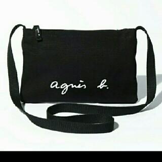 agnes b. - アニエスベー サコッシュ黒