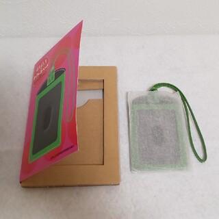 ケイトスペードニューヨーク(kate spade new york)のケイト・スペード  × BAILA 本革 オリジナル カードケース(パスケース/IDカードホルダー)