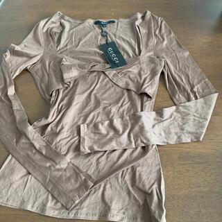 グッチ(Gucci)のレディースカットソー(Tシャツ(長袖/七分))