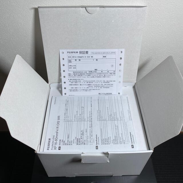 富士フイルム(フジフイルム)のXF16-80mm F4 R OIS WR 富士フィルム 新同品 スマホ/家電/カメラのカメラ(レンズ(ズーム))の商品写真
