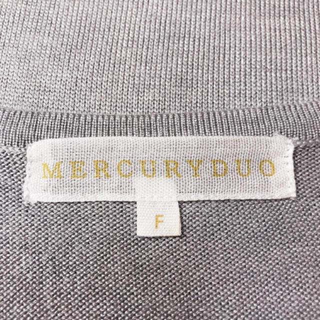 MERCURYDUO(マーキュリーデュオ)の極美ライン♪マーキュリーデュオ ストレッチノースリーブ♡ザラ エゴイスト レディースのトップス(Tシャツ(半袖/袖なし))の商品写真