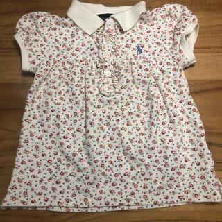 ラルフローレン(Ralph Lauren)のRALPHLAUREN  花柄ポロシャツ(Tシャツ/カットソー)