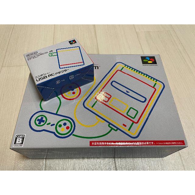 任天堂(ニンテンドウ)のニンテンドー クラシックミニ スーパーファミコン エンタメ/ホビーのゲームソフト/ゲーム機本体(家庭用ゲーム機本体)の商品写真