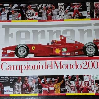 フェラーリ(Ferrari)のフェラーリf1 純正ポスター(ポスターフレーム)