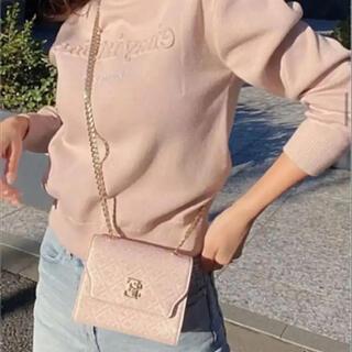 eimy istoire - ES Monogram Chain Mini Bag ピンク
