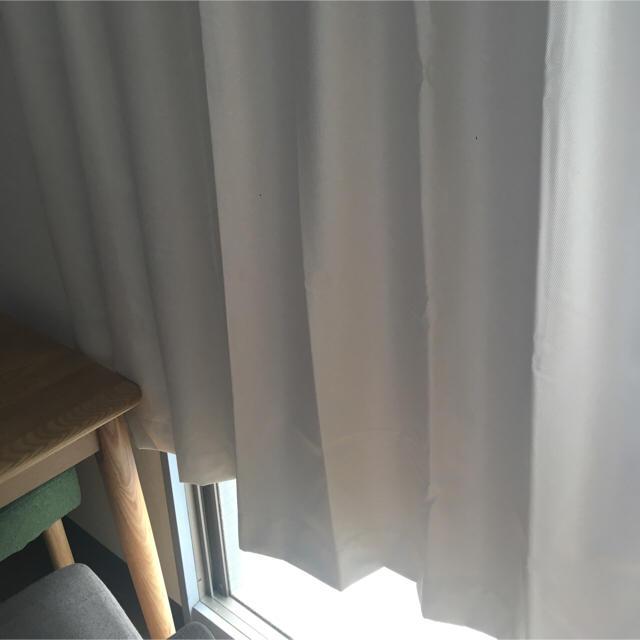大胆にお部屋をイメチェン☆無印良品&ニトリのカーテン