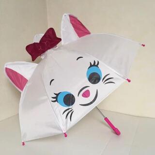 ディズニー(Disney)の即購入OK!新品タグ付き 大人気 かわいい ディズニー マリーちゃん 耳付き傘(傘)