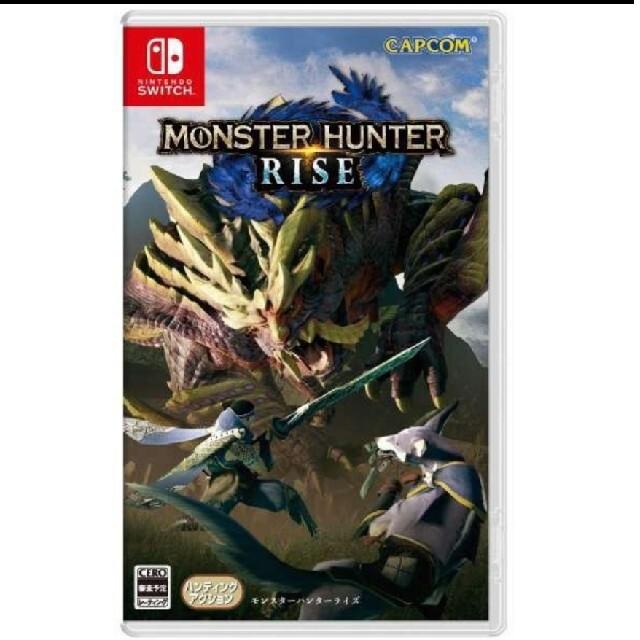 Nintendo Switch(ニンテンドースイッチ)のモンスターハンターライズ 初回封入特典付 新品 エンタメ/ホビーのゲームソフト/ゲーム機本体(家庭用ゲームソフト)の商品写真