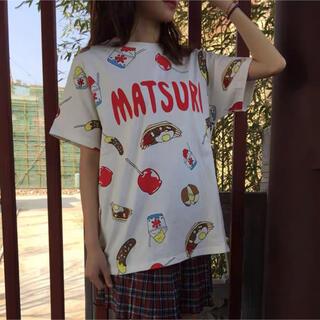 プニュズ(PUNYUS)のPUNYUS まつり Tシャツ(Tシャツ(半袖/袖なし))
