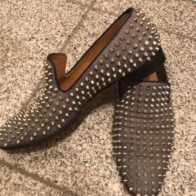 Christian Louboutin(クリスチャンルブタン)のクリスチャンルブタン デニム生地ドレスシューズ メンズの靴/シューズ(ドレス/ビジネス)の商品写真