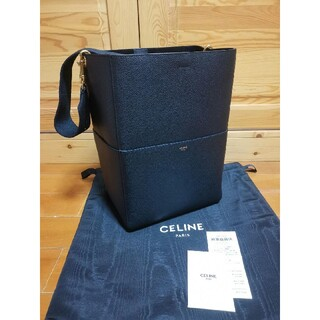 celine - CELINE ショルダーバッグ サングルバケット