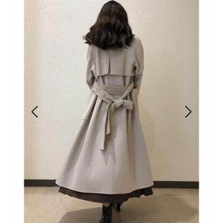 スナイデル(snidel)のSNIDEL♡うろこカシミアコート スナイデル 最終値下げ(ロングコート)