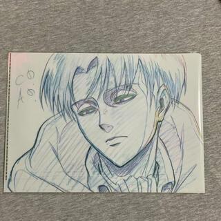 【リヴァイ】WIT STUDIO クリアファイル09