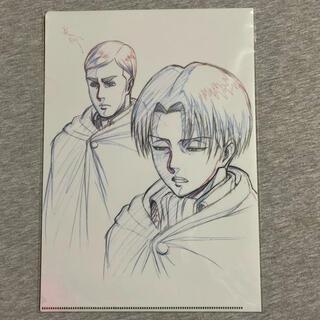 【リヴァイ/エルヴィン】WIT STUDIO クリアファイル11(クリアファイル)