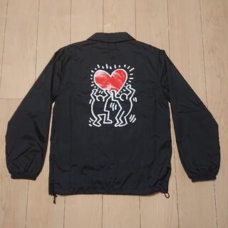 美品 Keith Haring coen  コラボ コーチジャケット S(ナイロンジャケット)