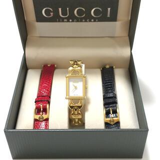 グッチ(Gucci)の5.グッチ GUCCI 時計 着せ替え 1800L(腕時計)