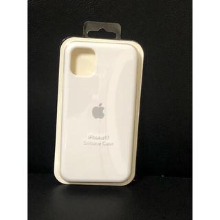 Apple - iPhone 11 Silicone Case (black)