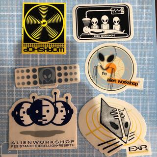 エイリアンワークショップ(Alien Workshop)の当時物 エイリアンワークショップ 6枚セットスケボー sk8(スケートボード)