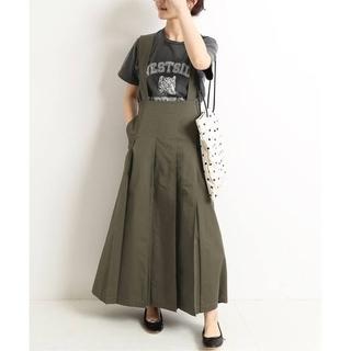 IENA SLOBE - ☆今季タグ付き☆SLOBE IENA タックプリーツジャンパースカート