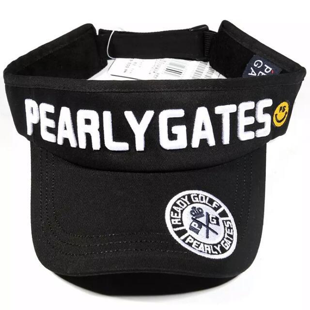 PEARLY GATES(パーリーゲイツ)のパーリーゲイツ ゴルフバイザー サンバイザー ゴルフキャップ ユニセックス メンズの帽子(キャップ)の商品写真