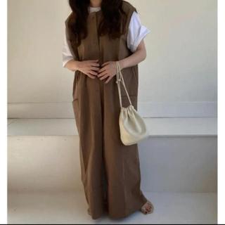 lawgy original 2way long vest brown
