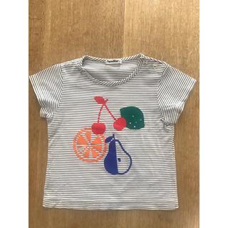 familiar - ファミリア  フルーツボーダーTシャツ 100サイズ