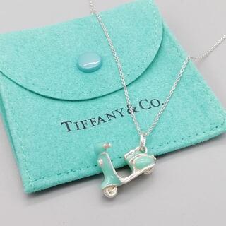 Tiffany & Co. - 希少 美品 ティファニー ブルー バイク ネックレス vv68
