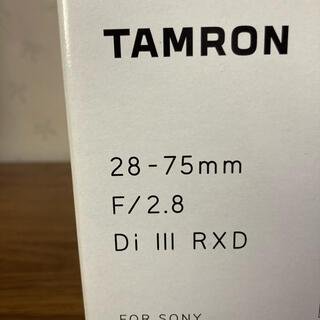 TAMRON 28-75mm F/2.8 Di III RXD