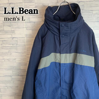 L.L.Bean - 古着 90s エルエルビーン L.L.Bean 刺繍ロゴ ナイロンジャケット