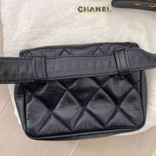 CHANEL(シャネル)のシャネル CHANEL ウエストポーチ ボディバッグ ビンテージ レディースのバッグ(ボディバッグ/ウエストポーチ)の商品写真