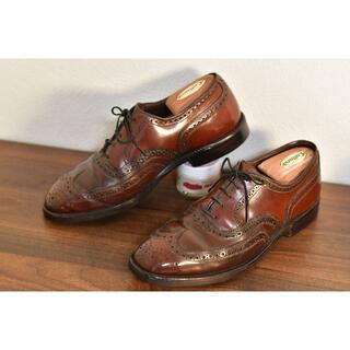 アレンエドモンズ(Allen Edmonds)のJOHNSTON&MURPHY cordovan US7相当 25.5cm(ドレス/ビジネス)