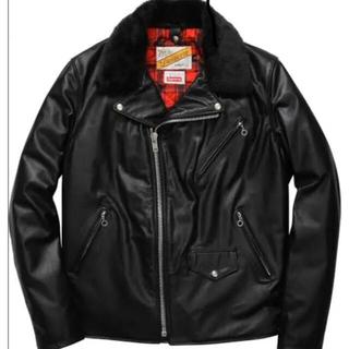 シュプリーム(Supreme)のSupreme×Schott  Perfecto Leather Jacket(ライダースジャケット)