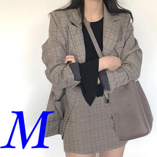 春コーデ ❤️ セットアップ オルチャン ジャケット スカート 新品 韓国 M