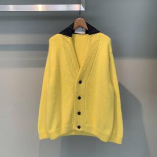 RAF SIMONS - namacheko Lumley Cardigan Yellow