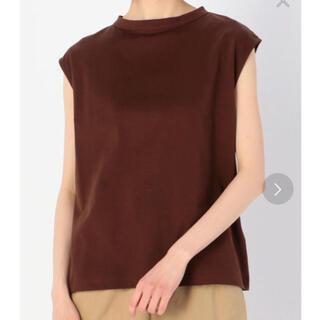 ユナイテッドアローズ(UNITED ARROWS)のハンドバーク handvaerk 半袖 Tシャツ ブラウン (Tシャツ(半袖/袖なし))