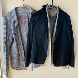 ユニクロ(UNIQLO)のUNIQLO スーツ ブレザーのシャツセット(スーツ)
